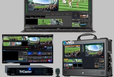 PTZ Controller TriCaster vMix Wirecast Rocosoft Software Integration
