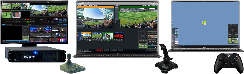 Add Precise Joystick Control to TriCaster, vMix, Wirecast, or PC!