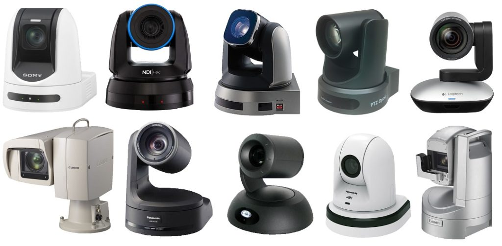 Rocosoft Software Supported PTZ Camera Brands