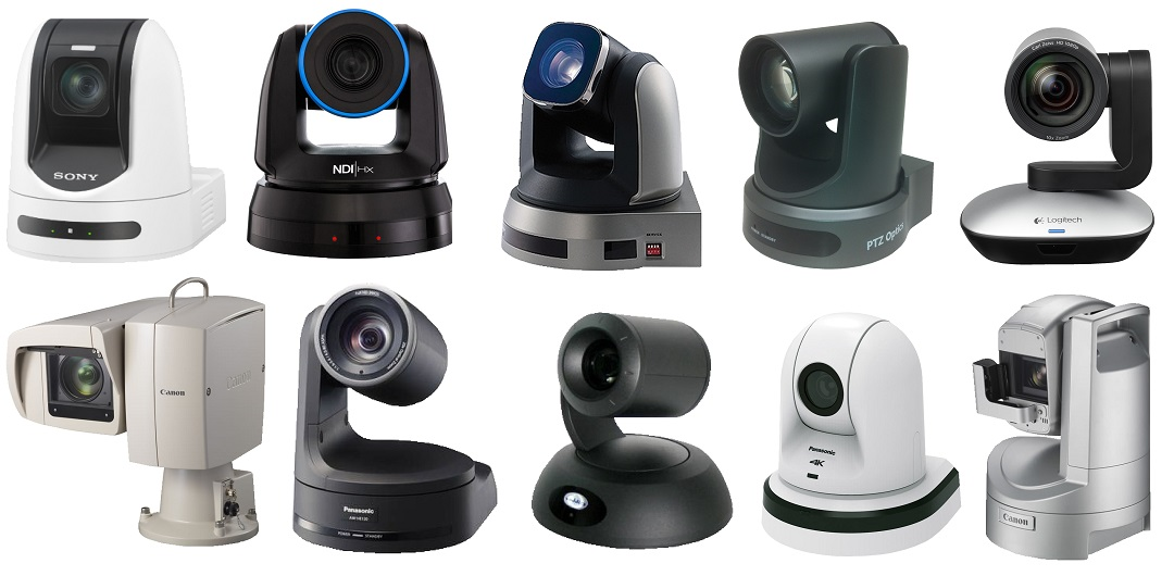 Rocosoft Controlled PTZ Camera Brands