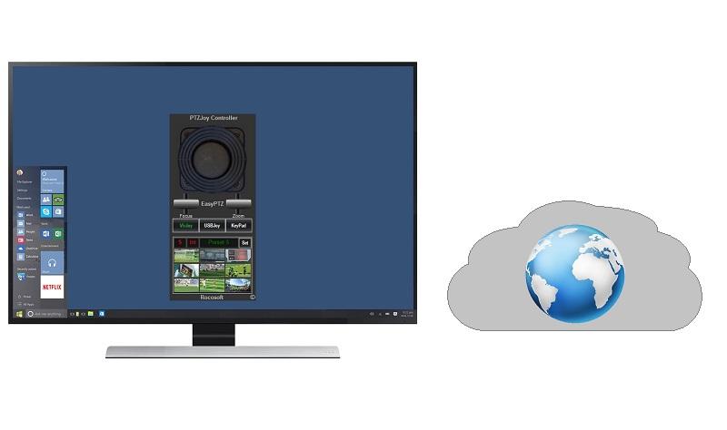 Rocosoft IP PTZ Camera Control Software