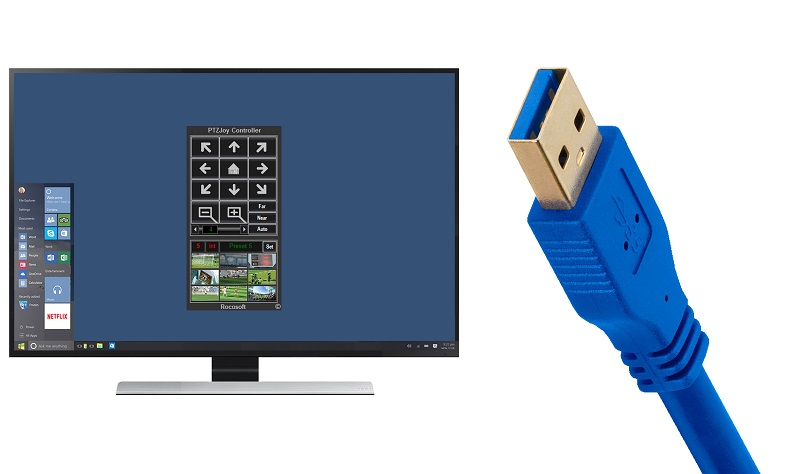Rocosoft UVC PTZ Camera Control Software