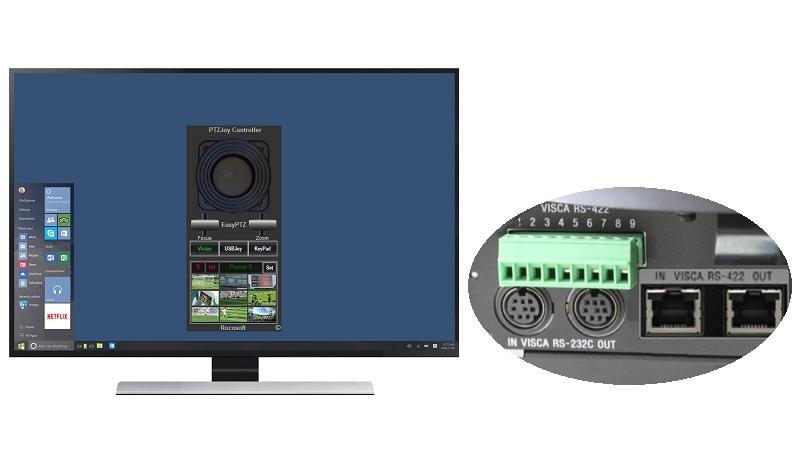 rocosoft-ptz-camera-visca-control-software - Robotics Control Software