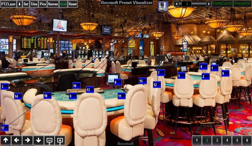 Rocosoft PTZ Visual Pad Controller for Casino-4