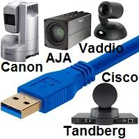 Rocosoft Tandberg-Cisco Canon AJA-Vaddio Extendable BALUN Cable Sets