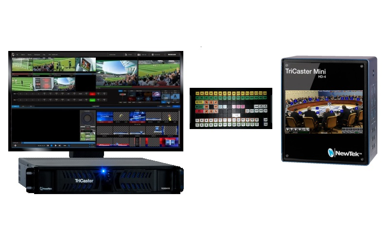 TriCaster PTZ Control and Automation